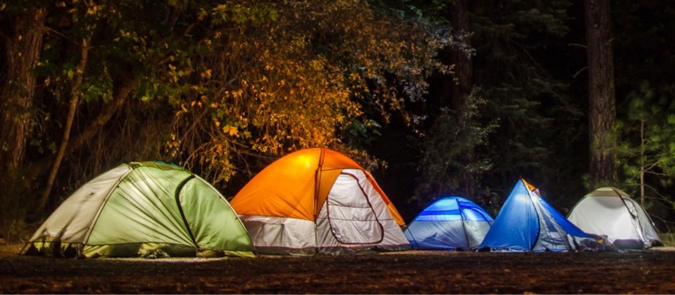 best camping places