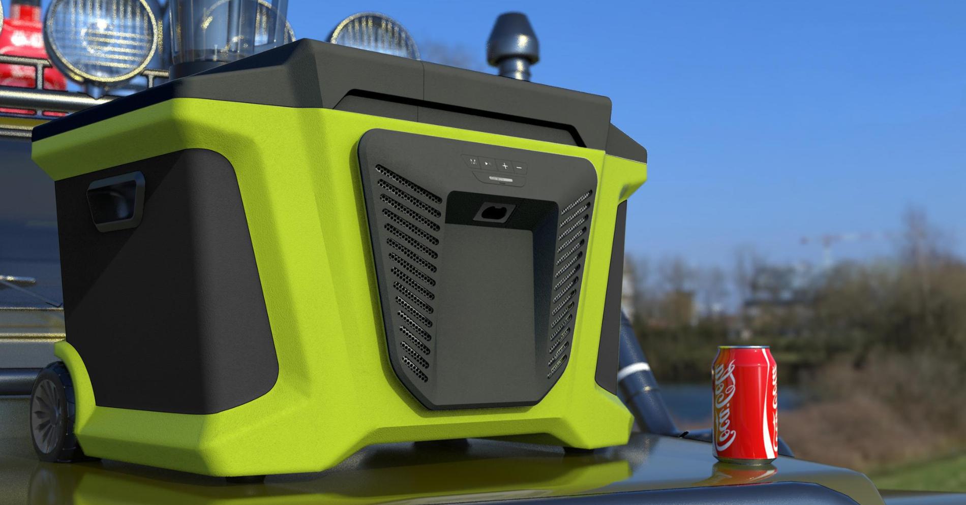 Camping-speaker-on-demand