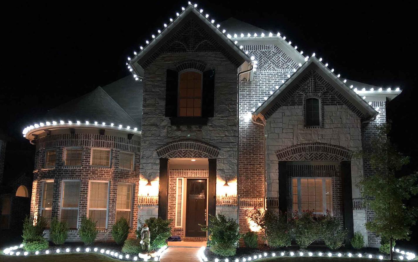 christmas light installation cost